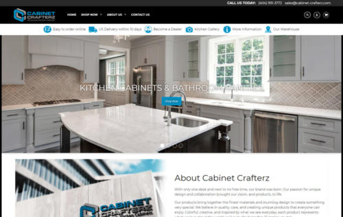 cabinet-crafterz home page