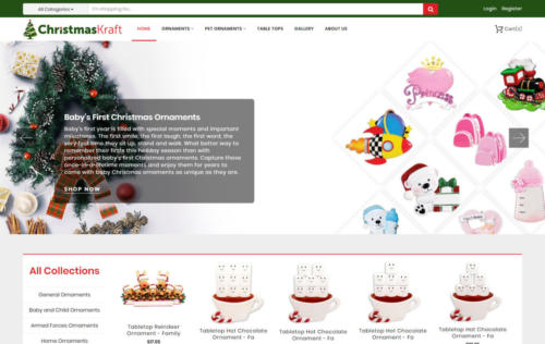 christmas Kraft home page