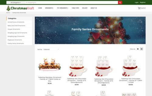 christmas Kraft inner page