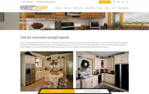 habitatdesignkb.com kitchen page
